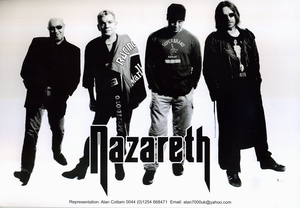 Nazareth едут в Россию.