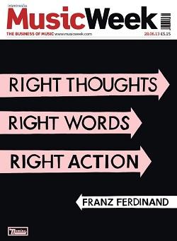Franz Ferdinand на обложке Music Week и видео Right Action