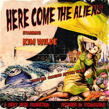 Kim Wilde — Here Comes The Aliens (2018) — 16 марта — дата релиза!