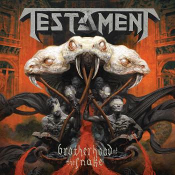 TESTAMENT «Brotherhood Of the Snake» Новый студийный альбом уже в продаже!