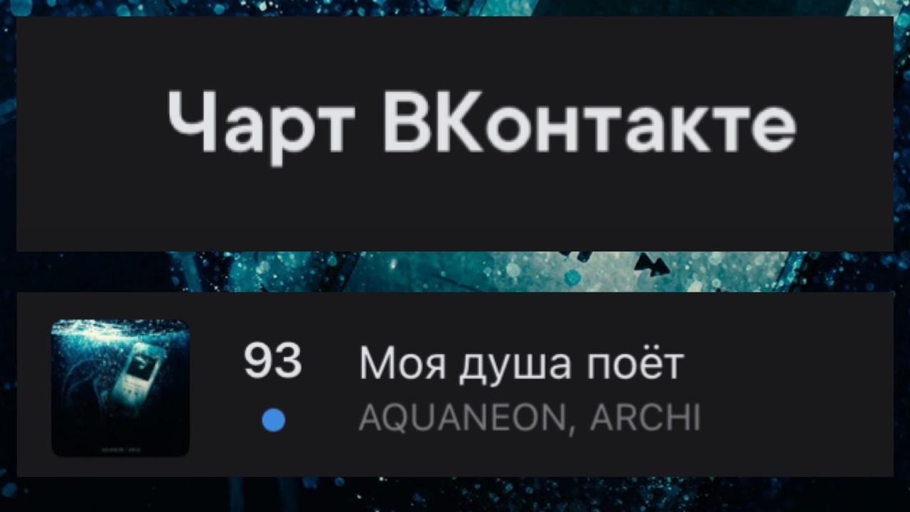 Поздравляем AQUANEON, ARCHI!